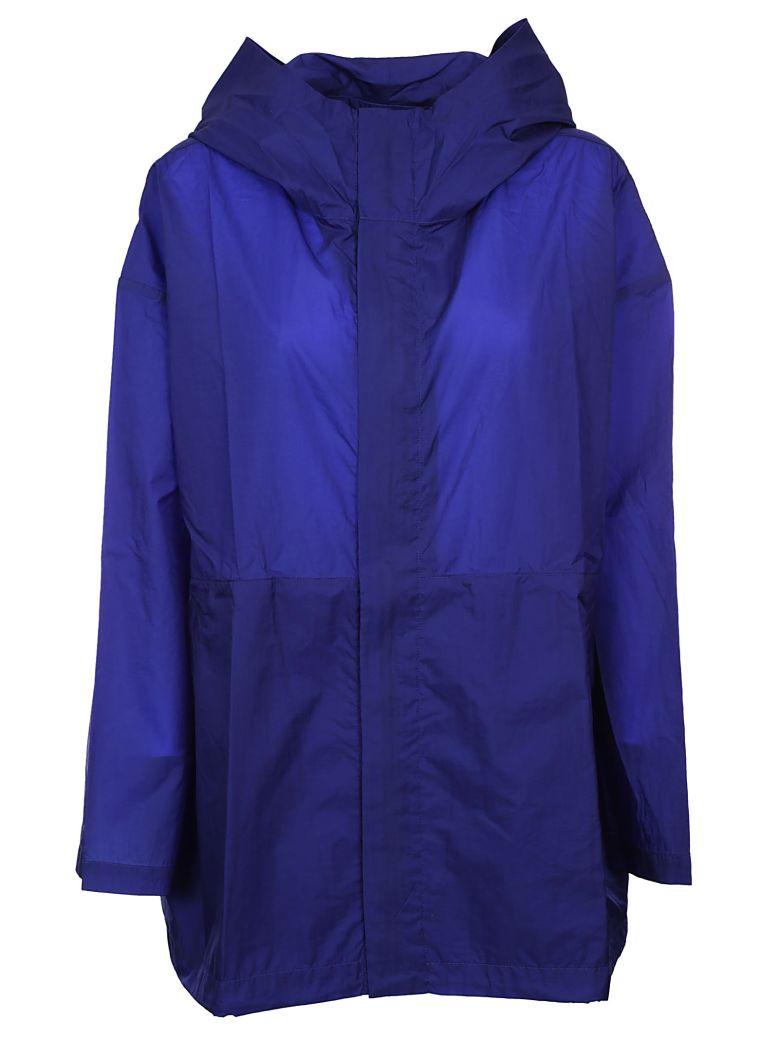 PLANTATION Hooded Raincoat in Bluette