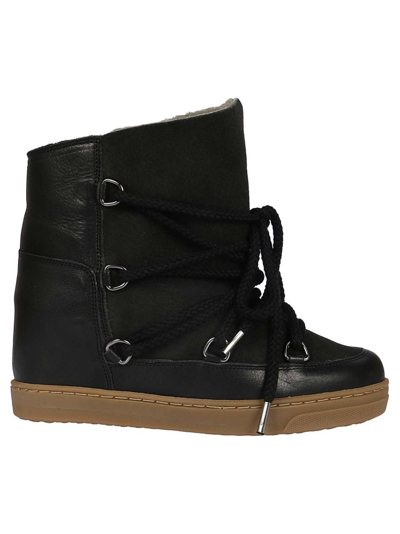 Nowles Lace-Up Boots