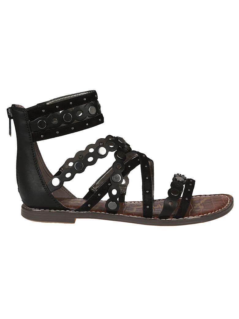 0c280931b Sam Edelman Geren Flat Sandals In Black