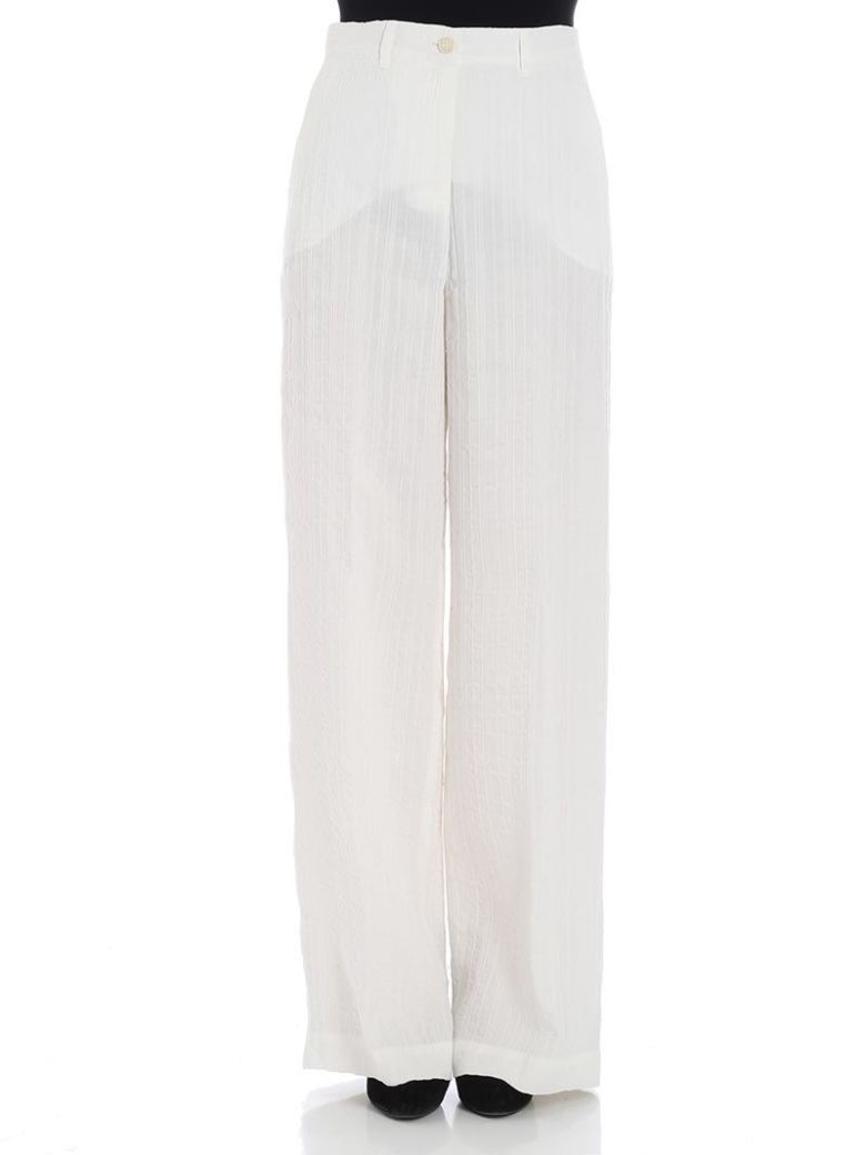 QL2 Ql2 - Mamil Trousers in White