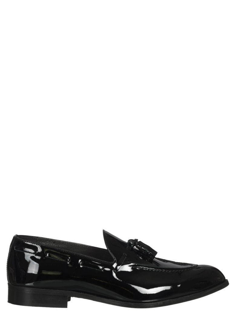 MANUEL RITZ LEATHER LOAFERS