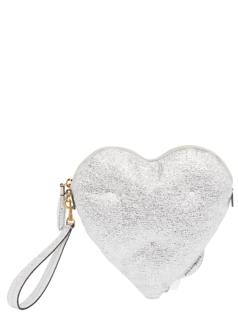 'Chubby Heart' Bag in Metallic
