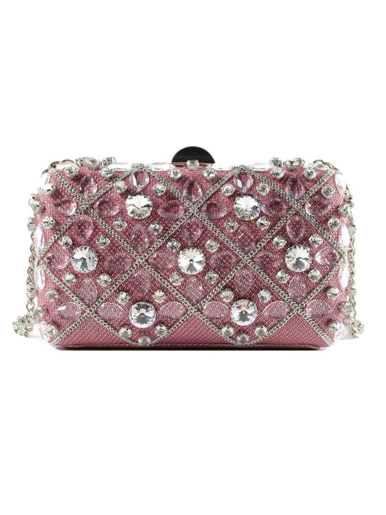 Rodo embellished hardshell clutch Original Fashionable Buy Cheap Order Discount Real For Sale Online H5NZLGSUOd