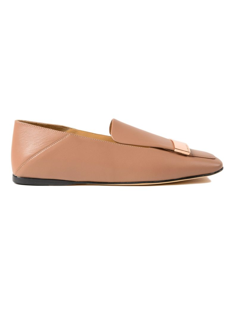 METAL PLATED LOAFERS