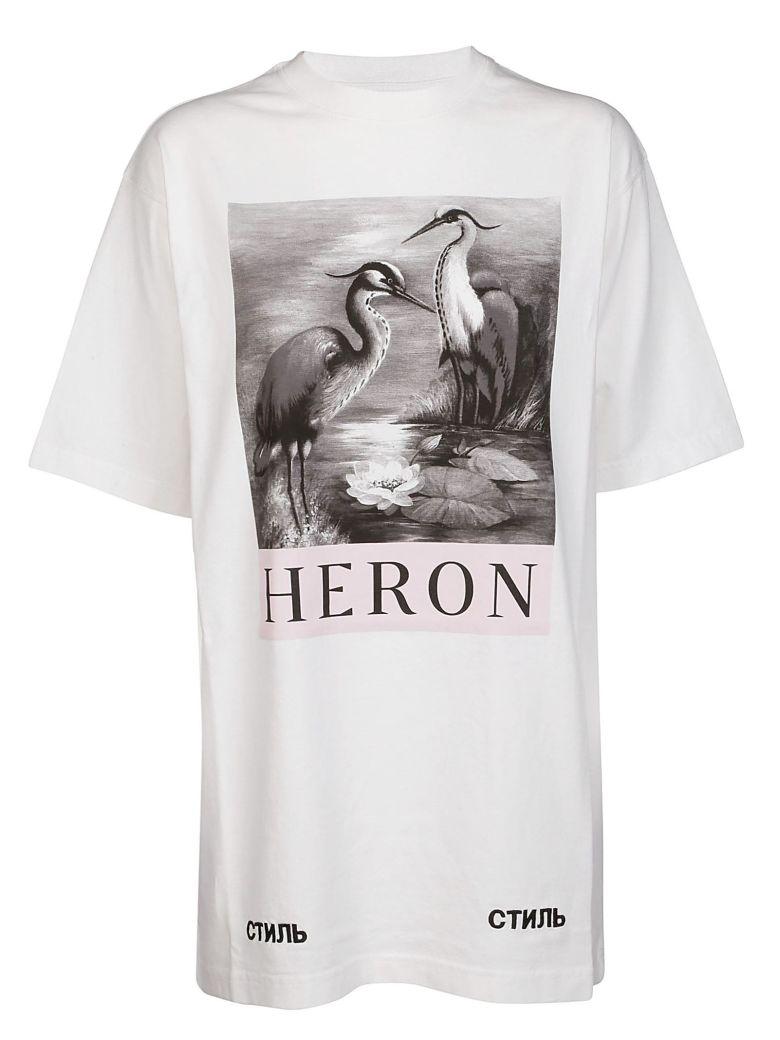 HERON PRESTO BIRD PRINT T-SHIRT