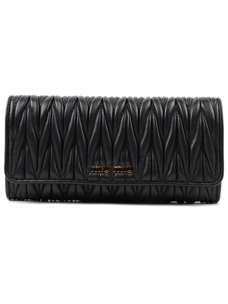 QUILTED LEATHER CONTINENTAL WALLET