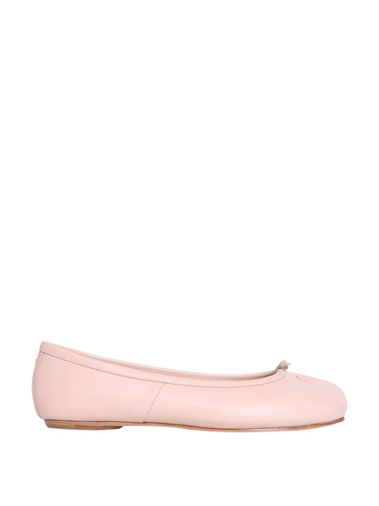 TABI LEATHER FLATS