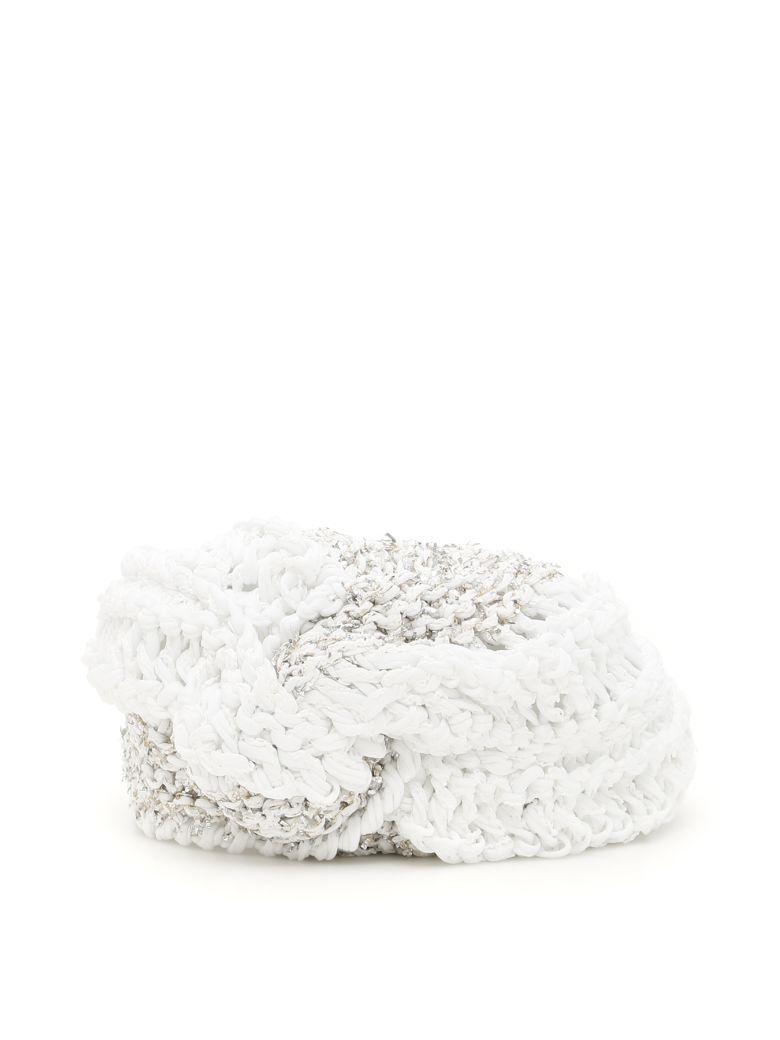 FLAPPER Vega Turban in White Silver