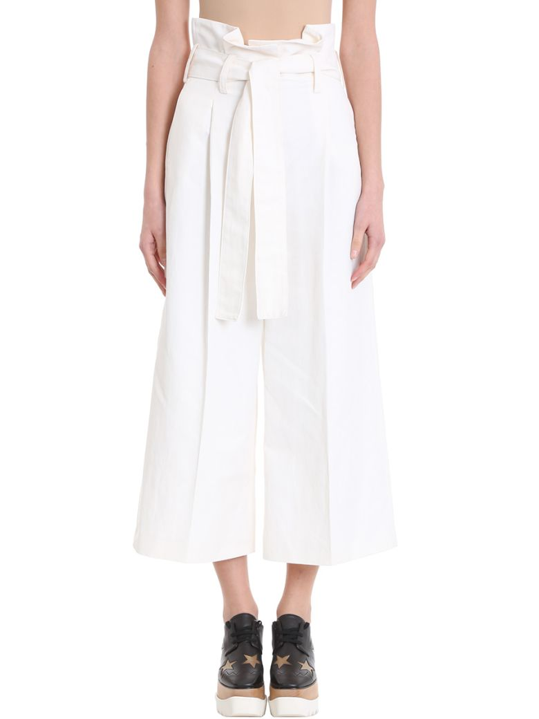 TrousersWhiteModesens High Stella Mccartney Waist Maggie qMzVLSGjpU