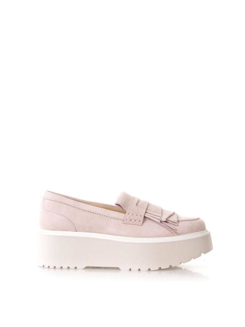 PINK ROUTE H355 LOAFERS IN LEATHER