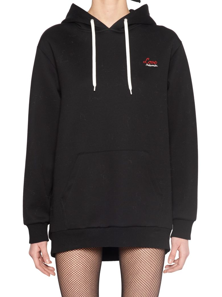 LOVE HOODIE WITH PATCH