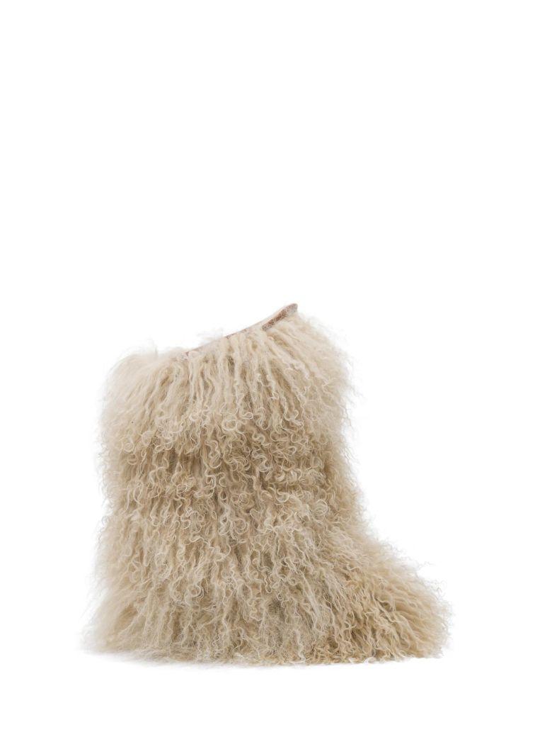 Fur Calf Boots 40
