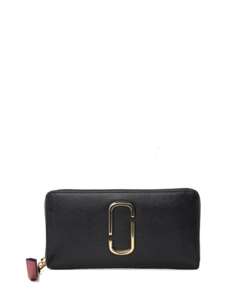 SNAPSHOT STANDARD COLOR-BLOCK SAFFIANO-LEATHER CONTINENTAL WALLET