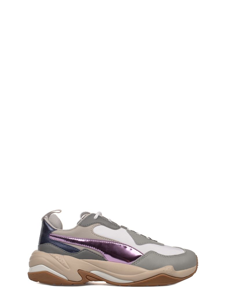 Women'S Thunder Electric Color-Block Lace Up Sneakers in Quarry/Pink Lavender/Cement