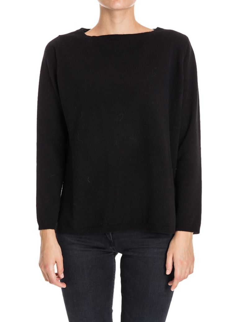 KANGRA CASHMERE SILK AND CASHMERE SWEATER