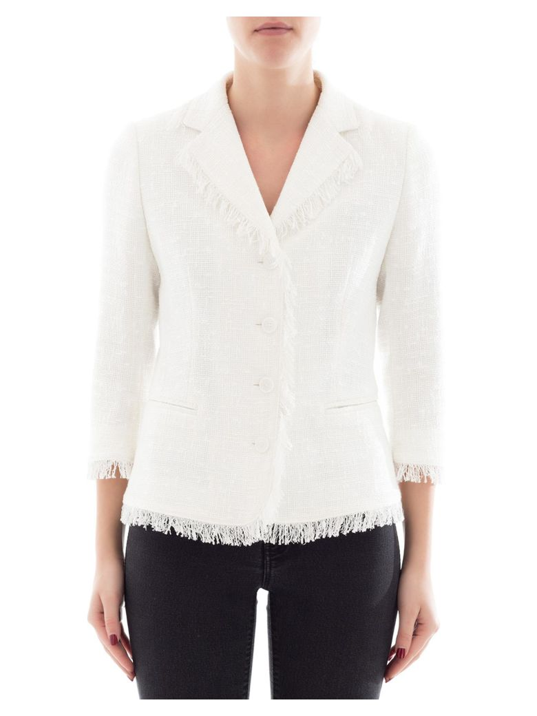 Tagliatore WHITE COTTON JACKET