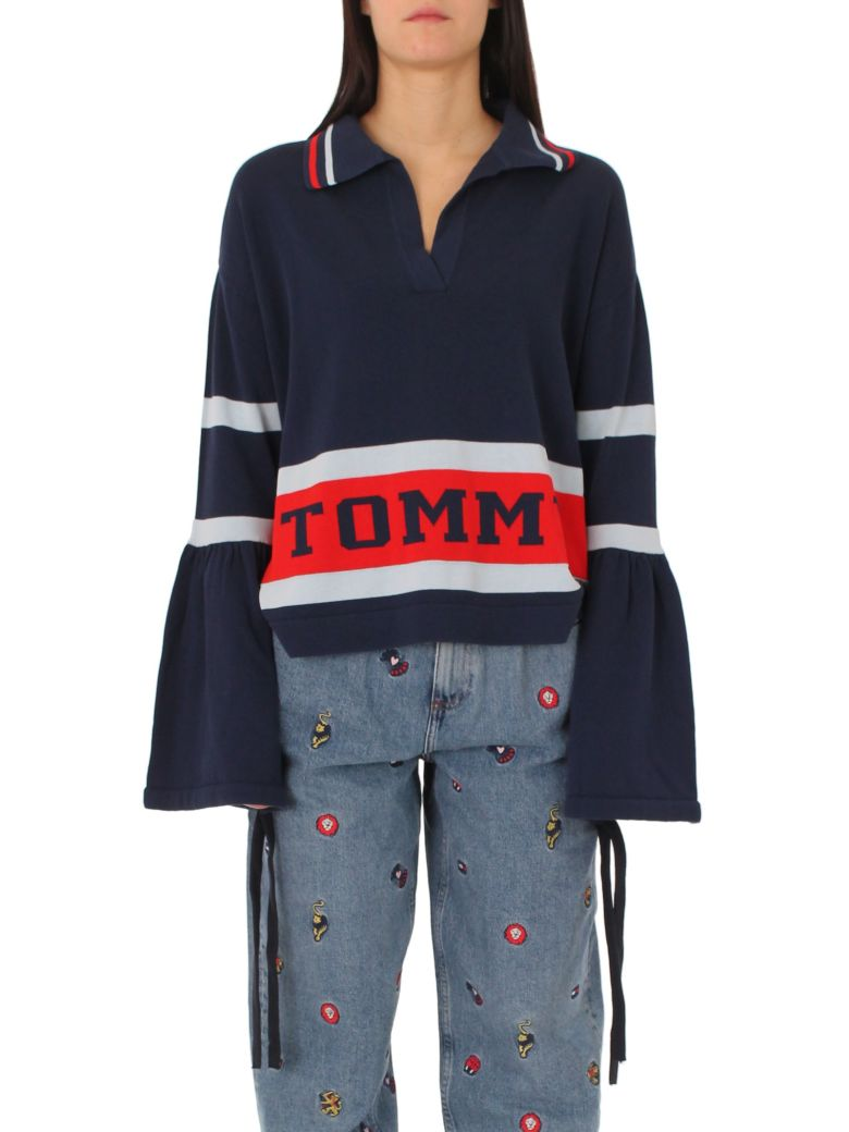 Tommy Hilfiger  PEACOAT LOGO SWEATER