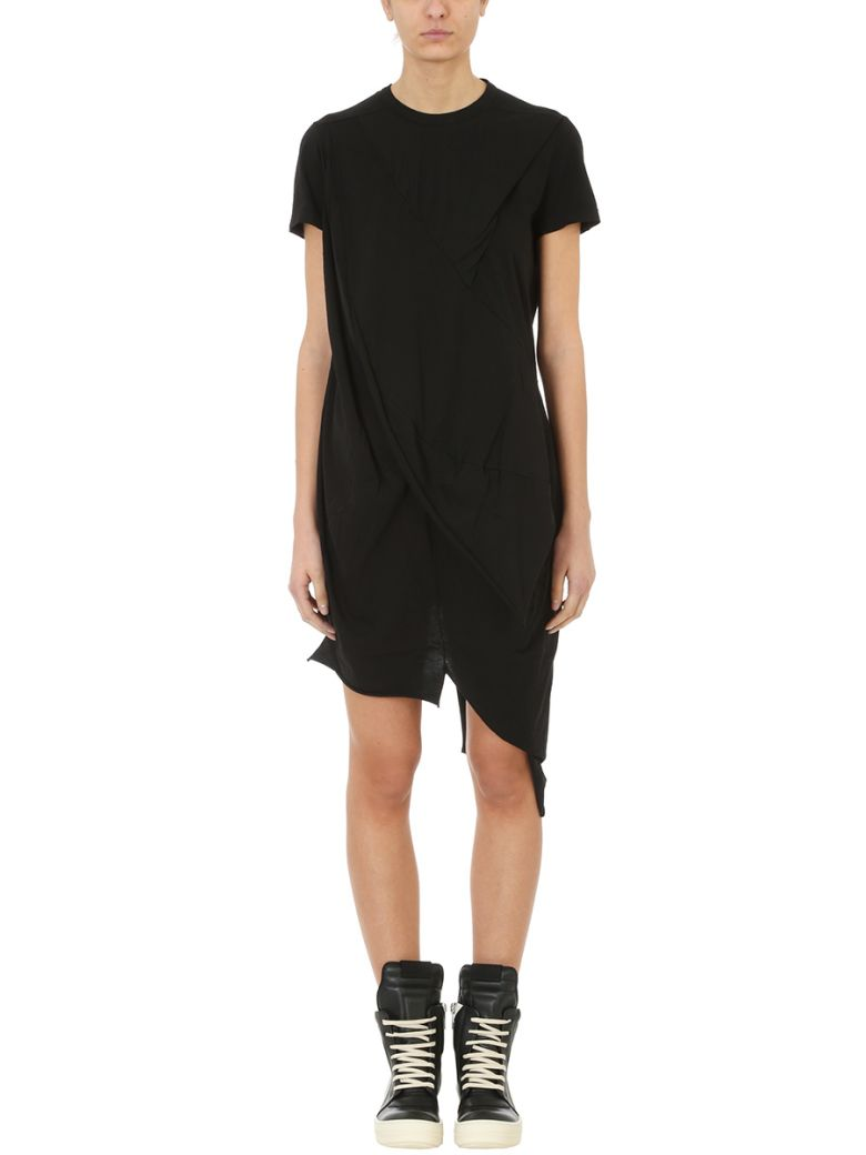 Drkshdw  DRAPED ASYMMETRIC T-SHIRT