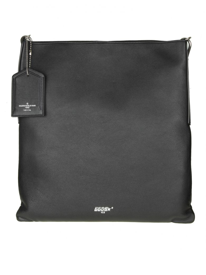 SHOPPING BAG HOBO IN LEATHER COLOR BLACK