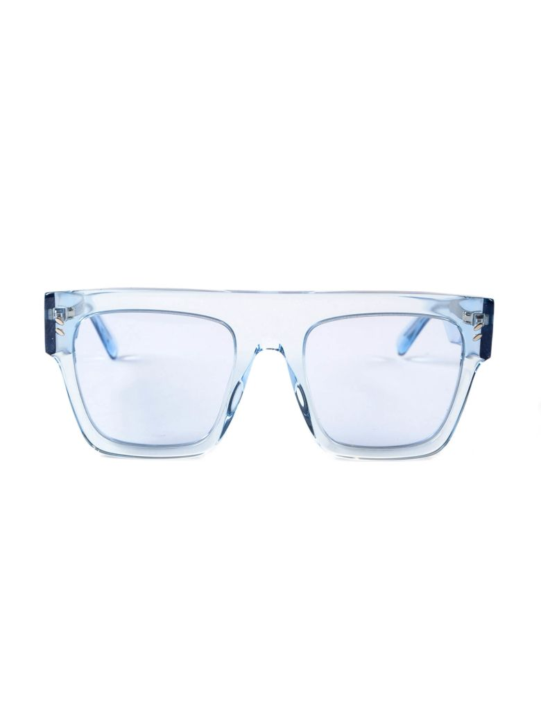 square transparent sunglasses - Blue Stella McCartney YVvbr5orDx