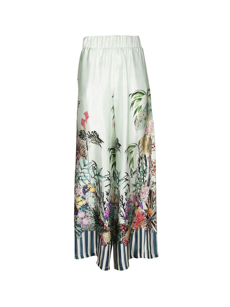 BLACK CORAL PALACE JUNGLE TROUSERS
