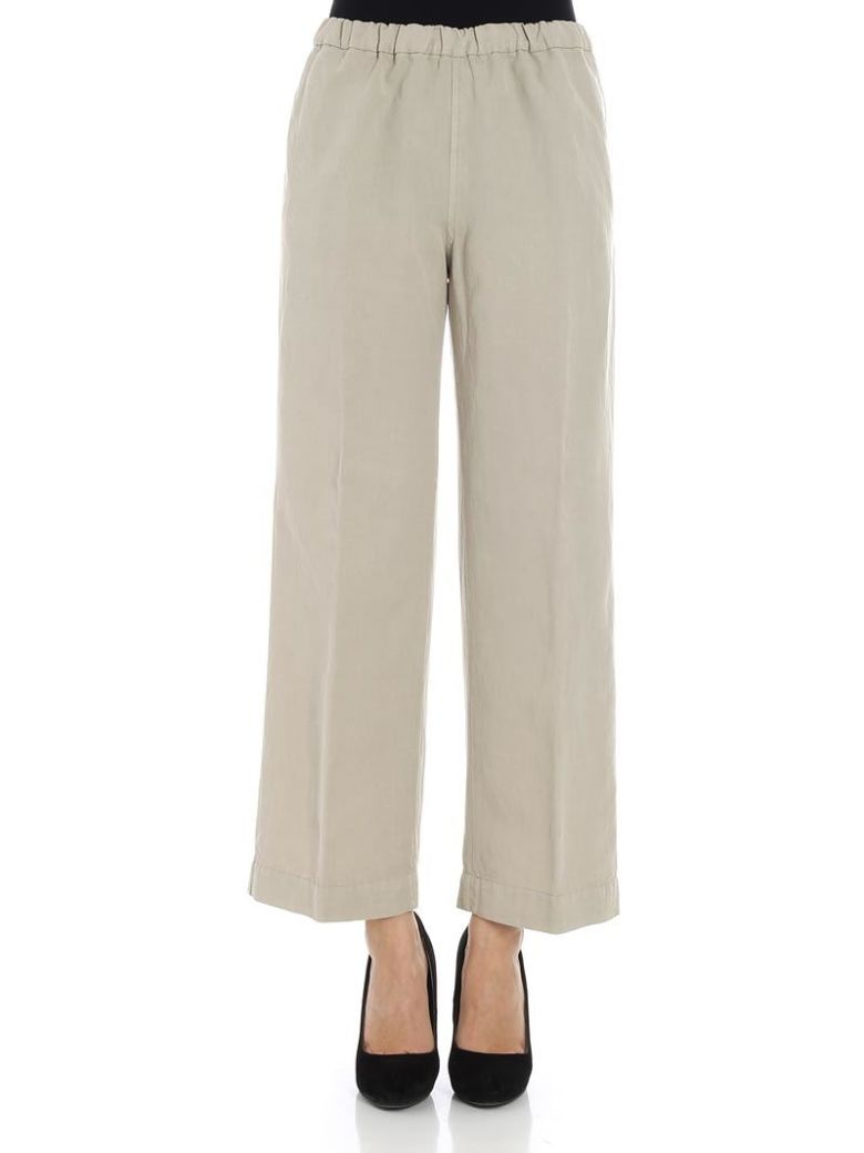 QL2 Ql2 - Portia Trousers in Sand
