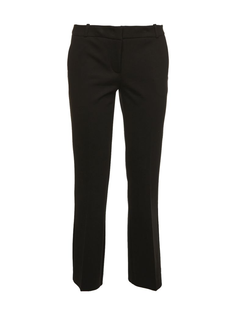 KILTIE & CO. Cropped Tailored Trousers in Nero