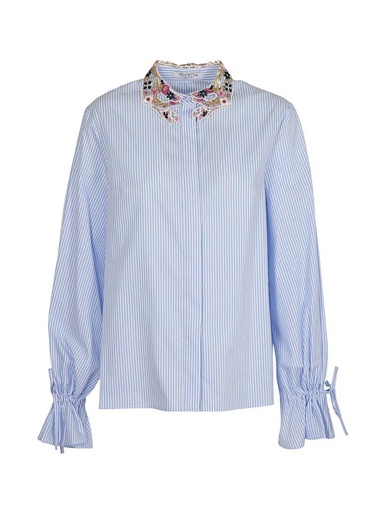 Striped Shirt in Azzurro