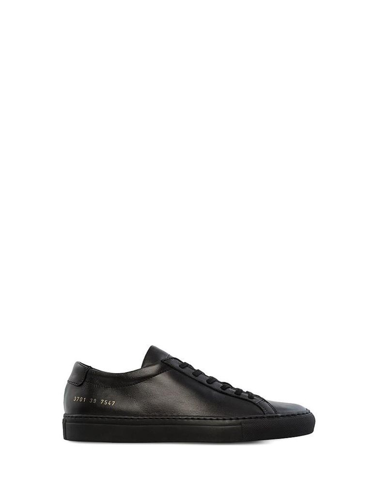 COMMON PROJECT BLACK ACHILLES SNEAKERS