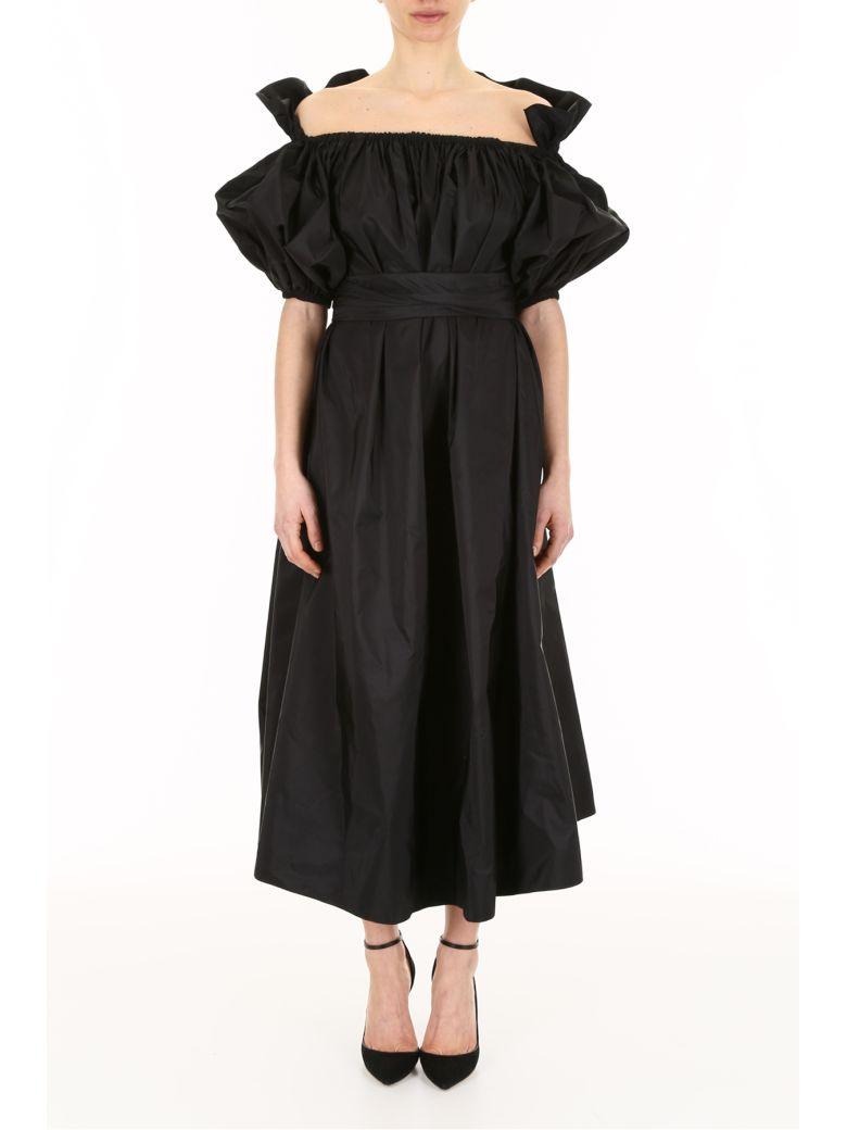 off-the-shoulder belted dress - Black Stella McCartney ANU8bDKRJT