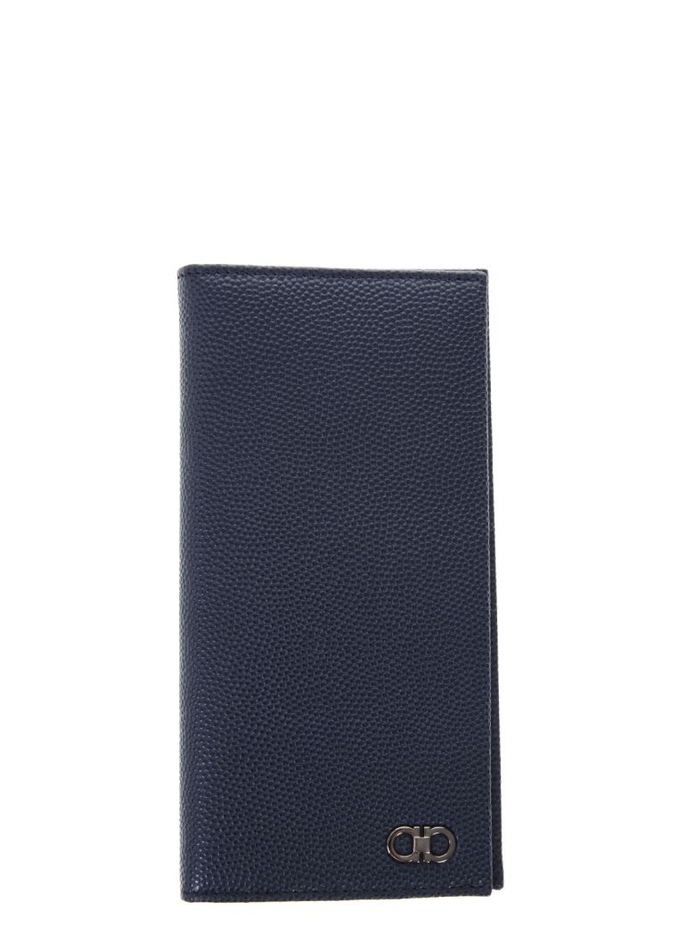 Salvatore Ferragamo Leather Wallet With Gancino Logo Sale Marketable Choice Cheap Price Cheap Sale With Paypal Popular kxvcvmzuy