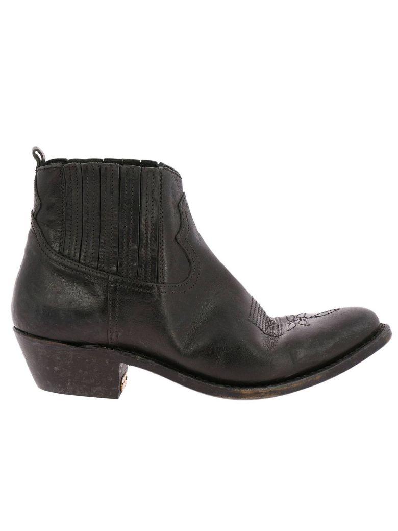 Golden Goose Flat Booties Shoes Women Golden Goose - black