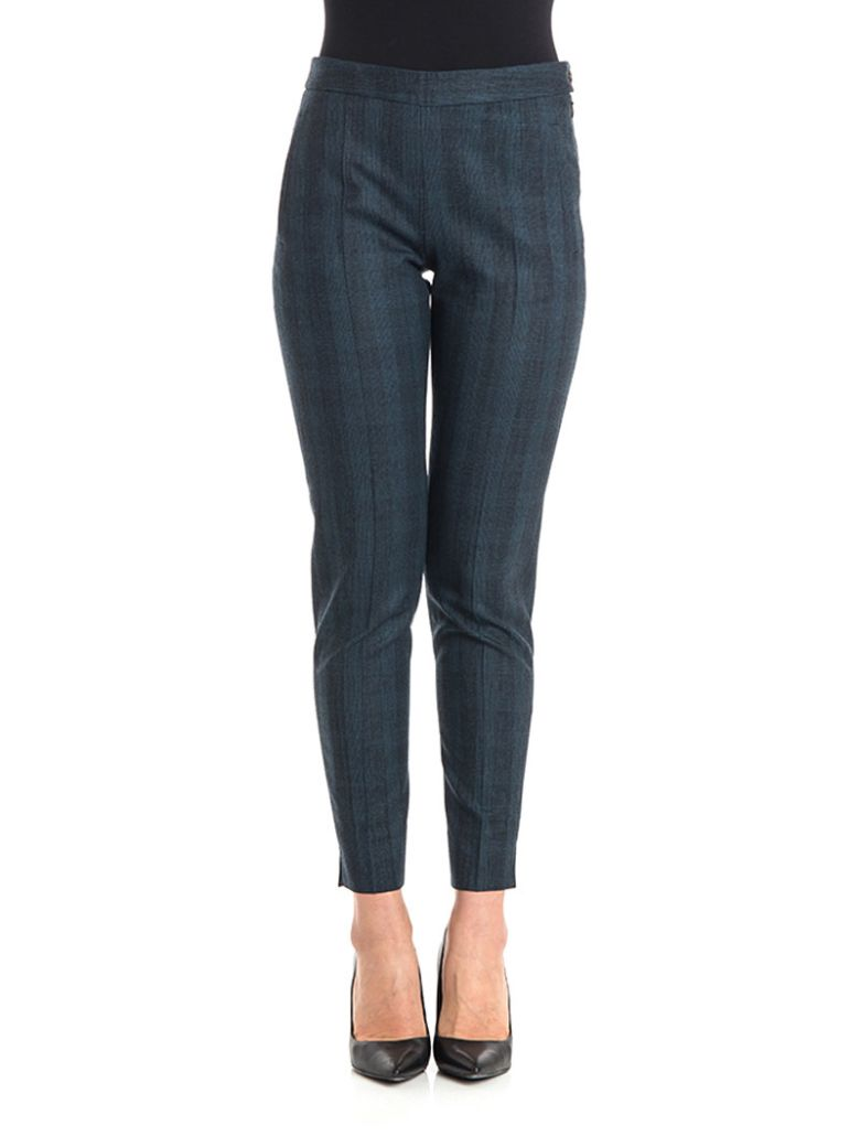 NEWYORKINDUSTRIE Cotton Trousers in Blue