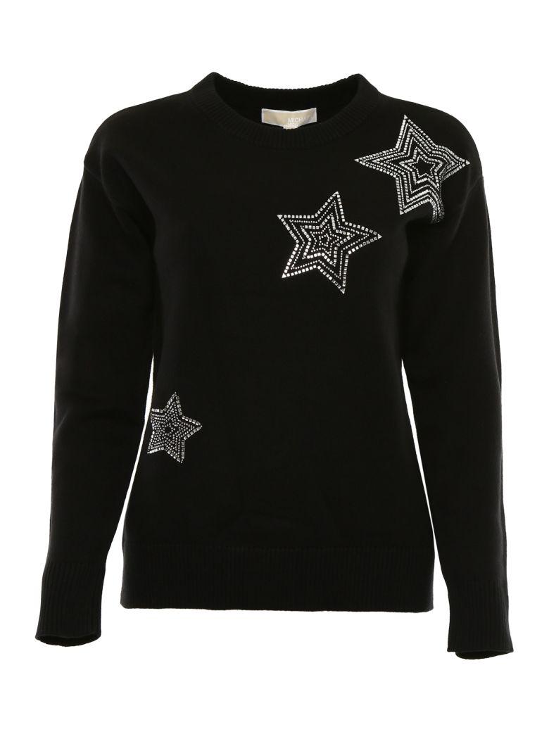MICHAEL Michael Kors Star Pullover - BLACK|Nero