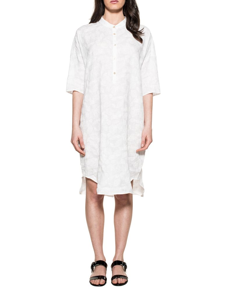 Xacus WHITE INES LINEN DRESS