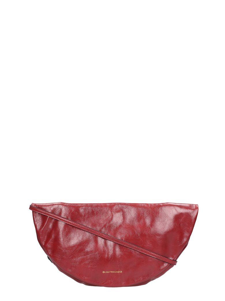 ALIAS RED CALF LEATHER BAG