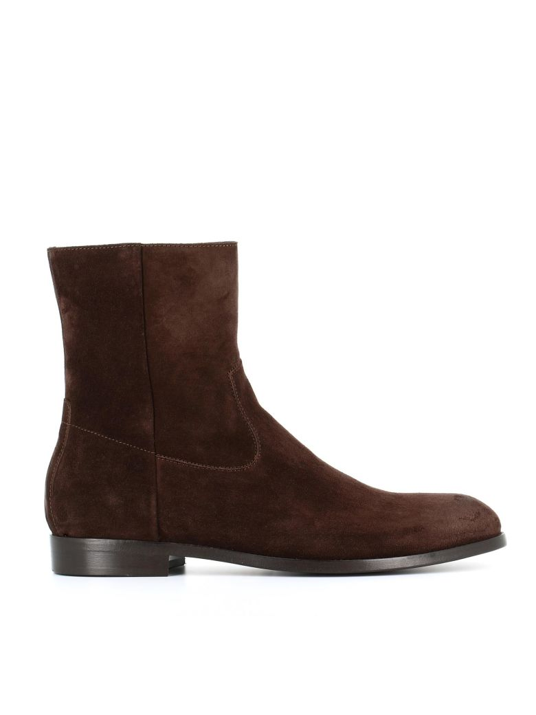BUTTERO Ankle Boots in Brown