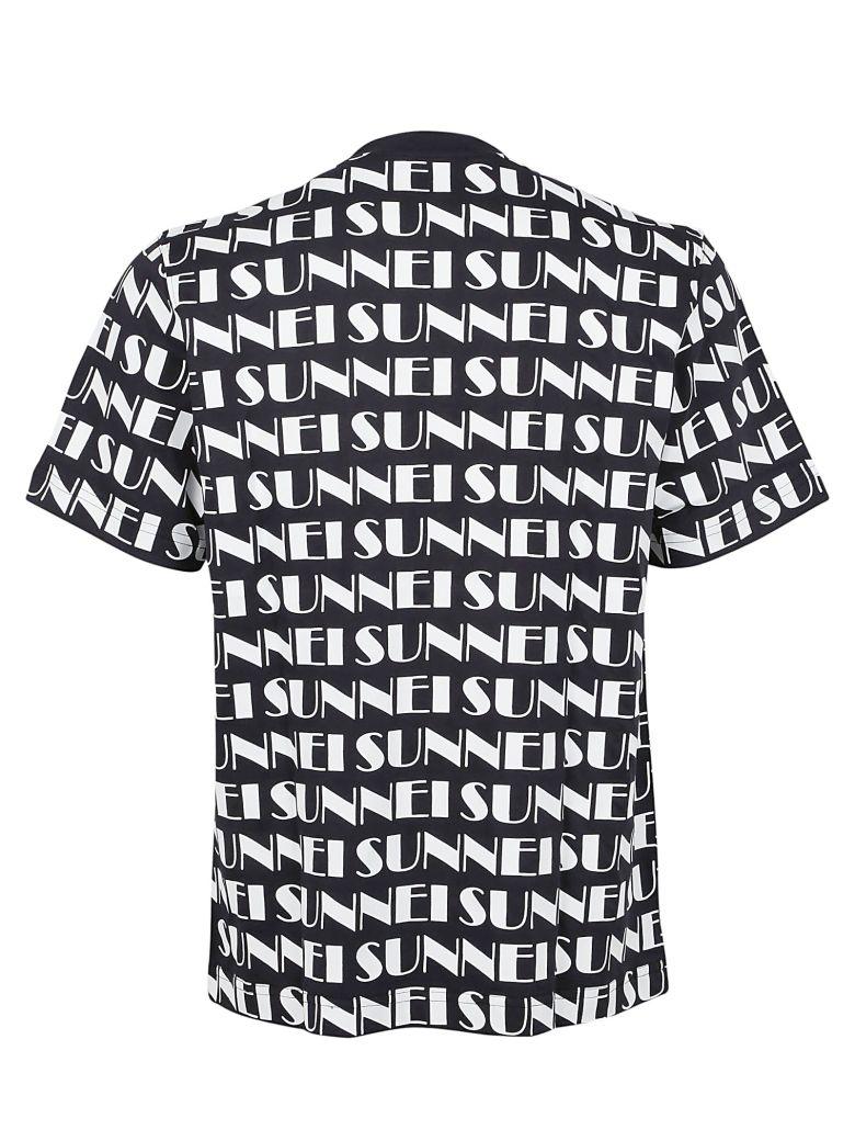 SUNNEI Cottons PRINTED LOGO T-SHIRT