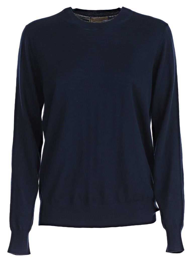 CHECK DETAILED SWEATER