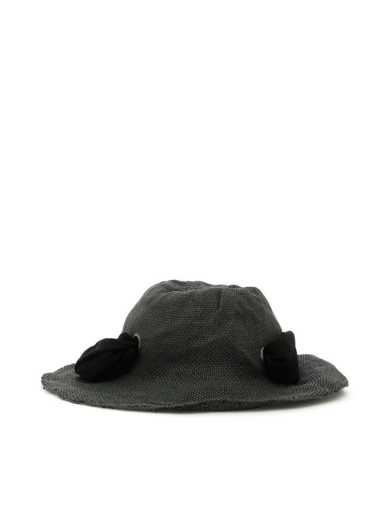 FLAPPER Dalia Hat in Black