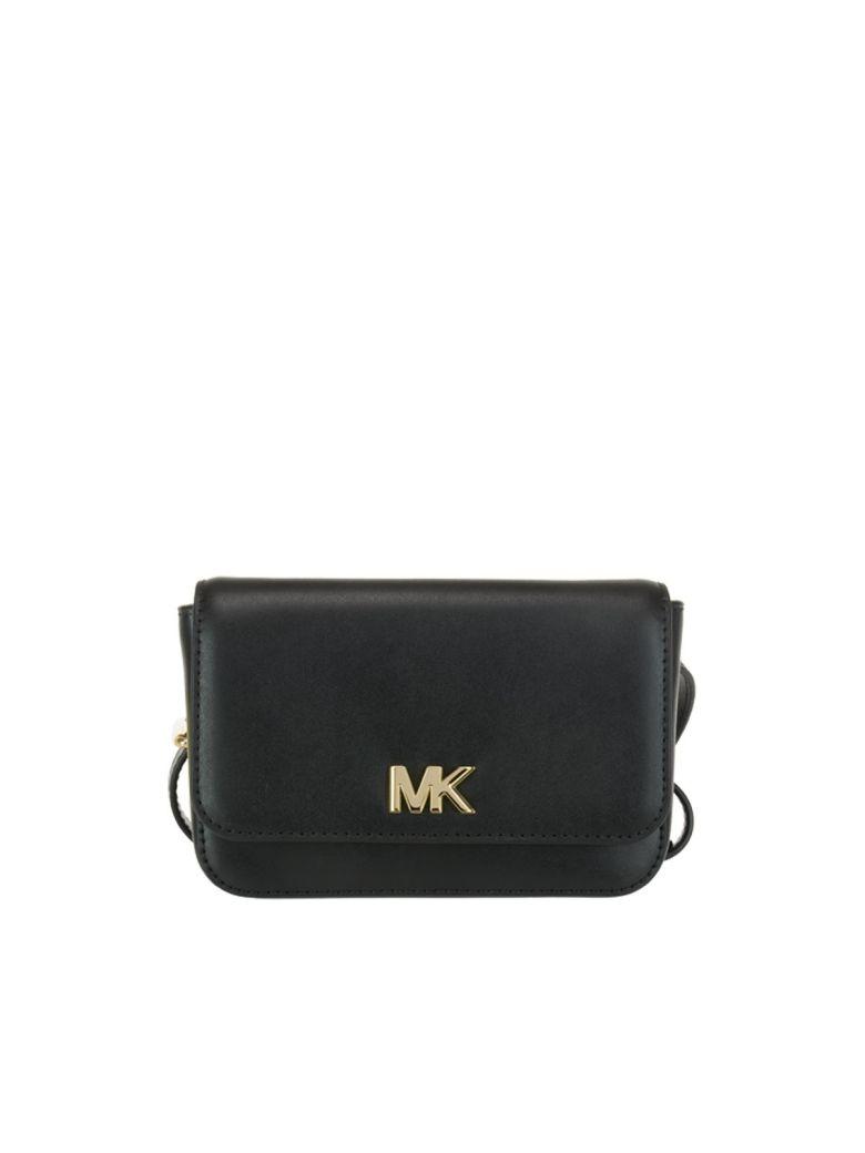 6695de5dba0b Michael Kors Mott Belt Bag In Black