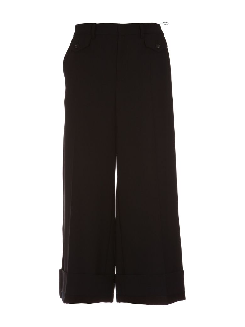 NO21 CROPPED TROUSERS