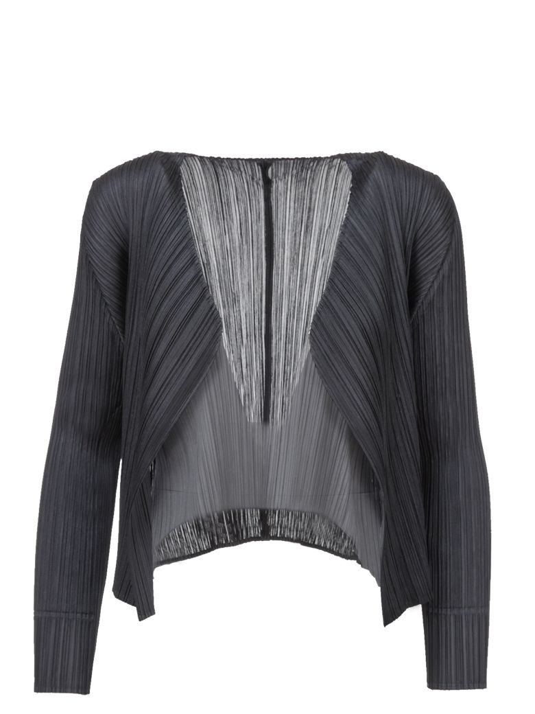 4a7a8265fa34 PLEATS PLEASE ISSEY MIYAKE PLEATED CROPPED JACKET