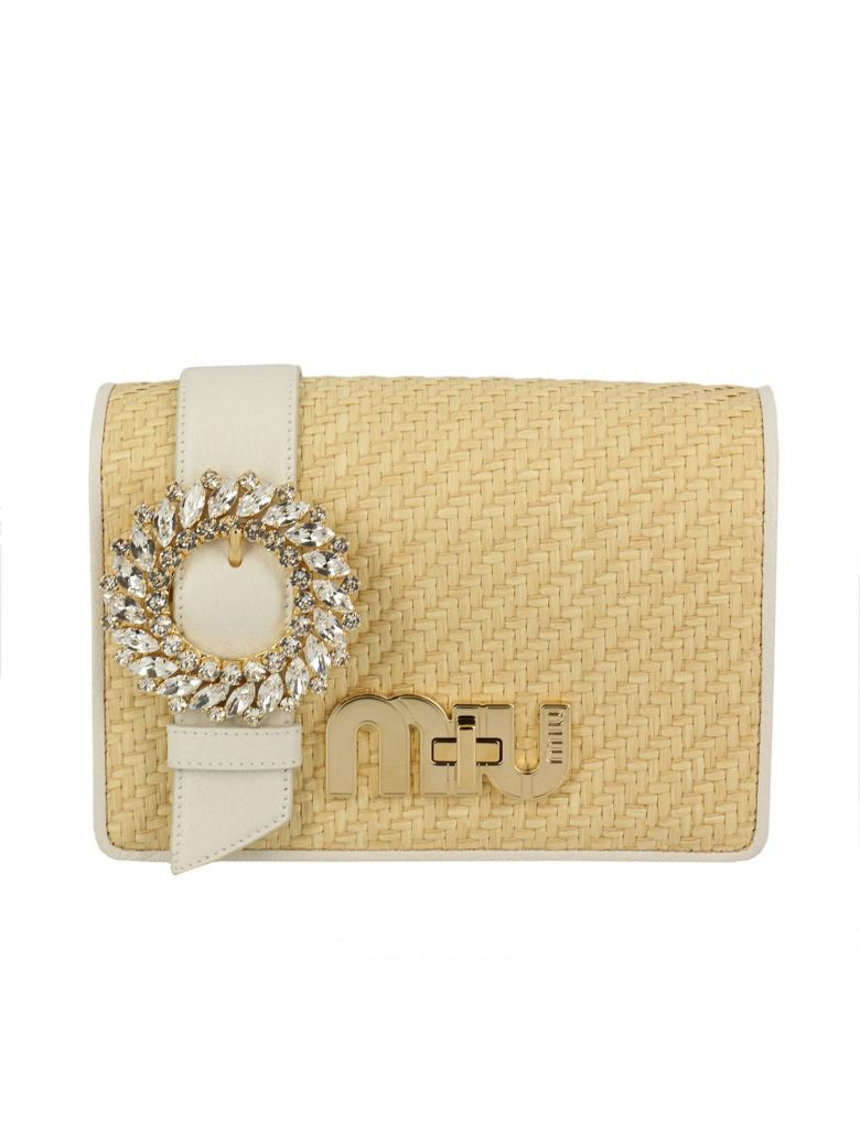 LADY BROOCH SHOULDER BAG