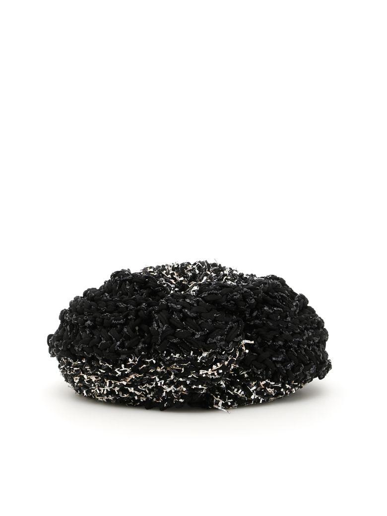 FLAPPER Vega Turban in Black Silver