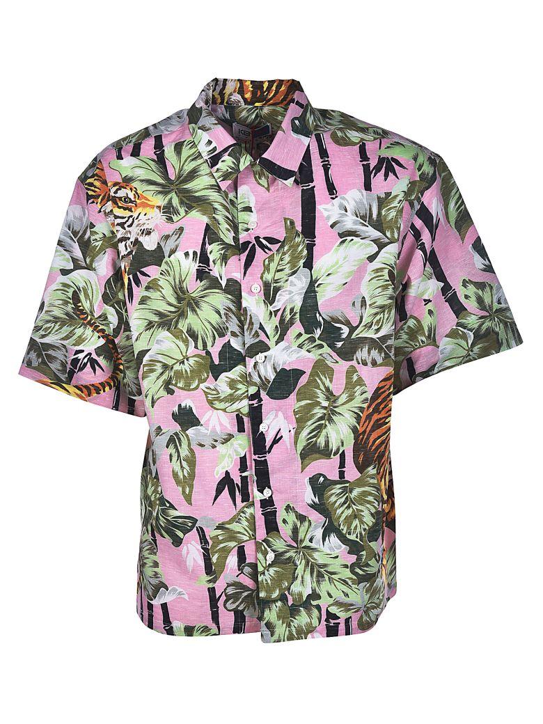 177a3bbd KENZO Hawaiian-Print Shirt, Rose Glace   ModeSens