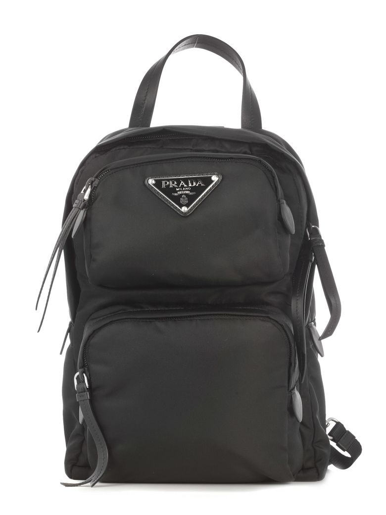 ONE STRAP DOUBLE POCKET BACKPACK