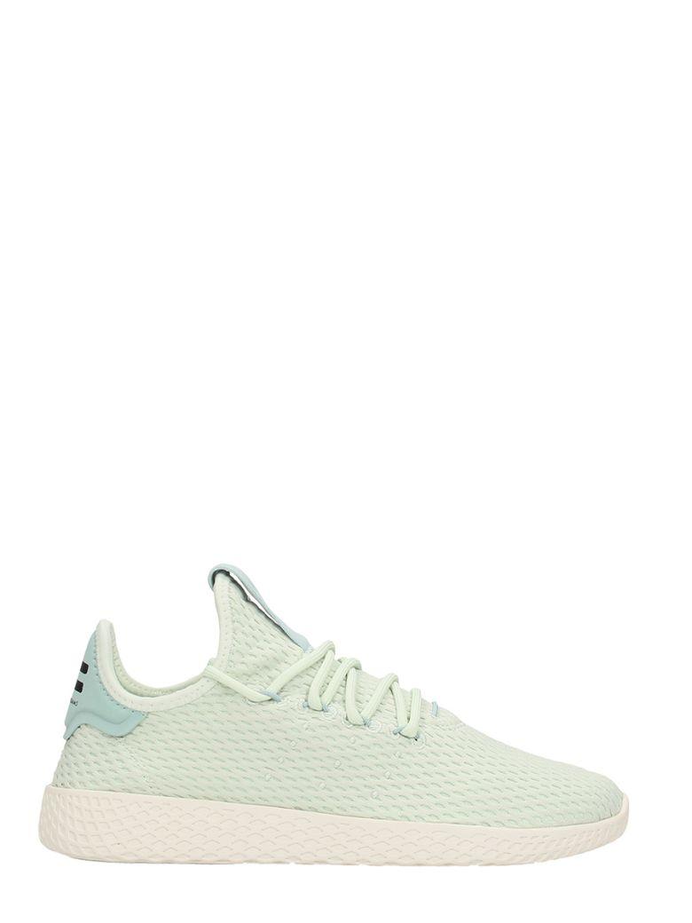 Tennis Hu Green Mesh Sneakers