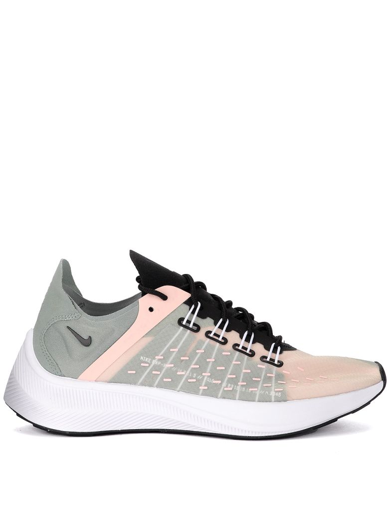 Women'S Exp-X14 Casual Shoes, Pink/Green/Grey, Multicolor