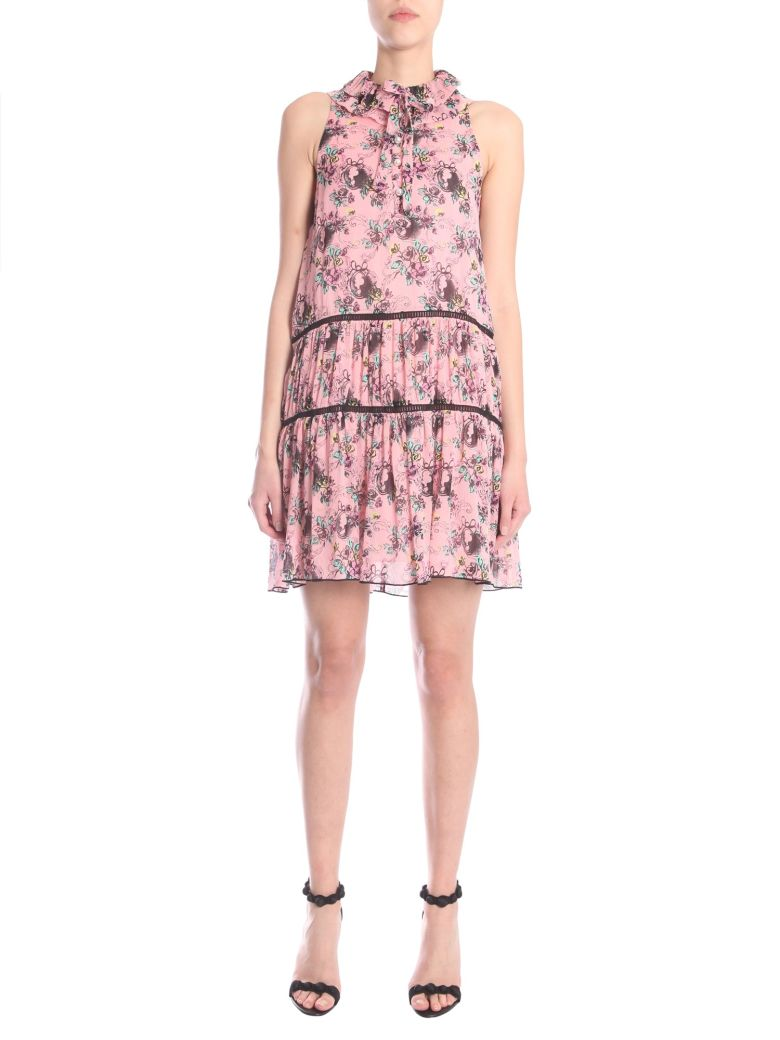 Sleeveless Dress, Rosa